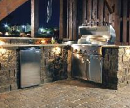 SRW, outdoor living, outdoor kitchen